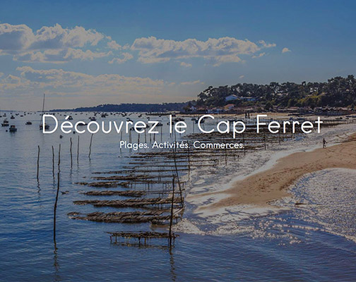 my cap ferret guide de vacances